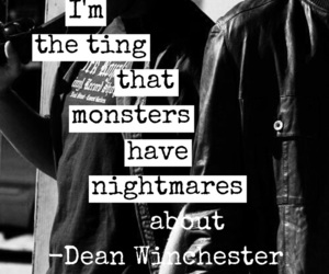 dean winchester, badass, and easel image