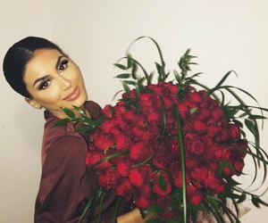 beauty, roses, and fleeky image