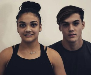 grayson dolan and laurie hernandez image
