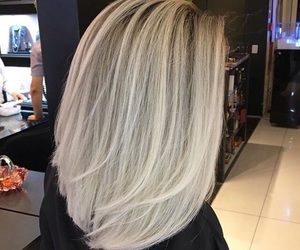 balayage, blond, and blonde image