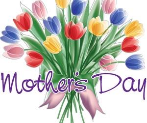 mom, mum, and tulip image
