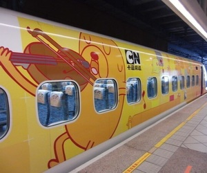 adventure time, cool, and train image