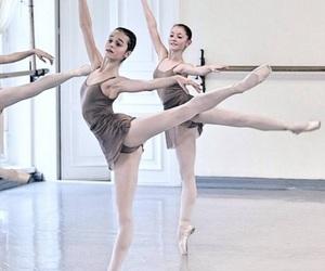 arabesque, ballet, and dance image
