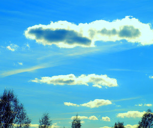 clouds, landscape, and sky image