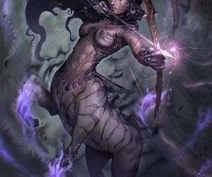 centaur, fantasy, and Sagittarius image