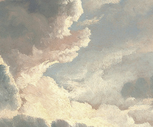 clouds, art, and sky image