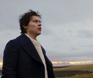 Harry Styles and sign of the times image