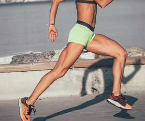 running and fitspo image
