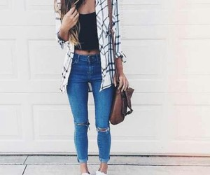 summer spring outfit image