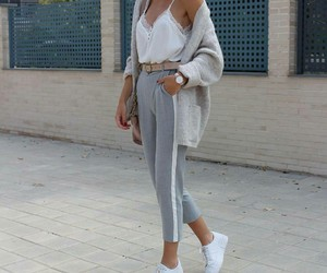 fashion, sporty, and lady image