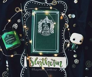 book, dark, and harry potter image