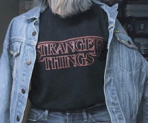 stranger things, grunge, and style image