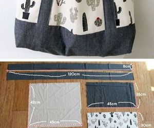 diy bag fashion image