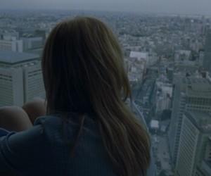 girl, city, and sad image
