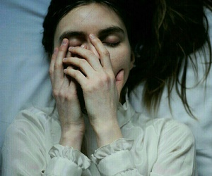 girl, sad, and alternative image