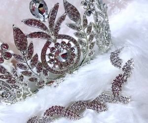crown, jewelry, and tiara image