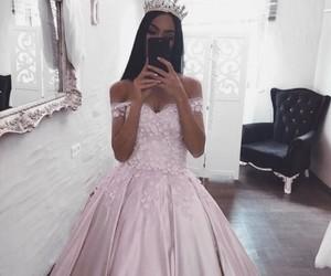fashion, dress, and princess image