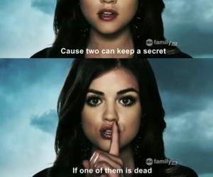 pretty little liars, pll, and secret image
