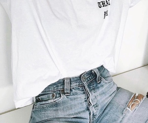 chic, white, and fashion image