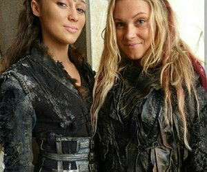 clexa, the 100, and eliza taylor image