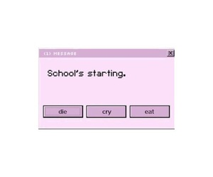 pink, school, and tumblr image