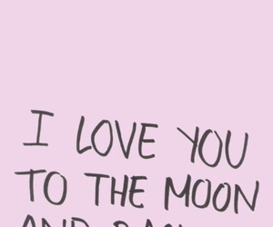moon, pink, and quotes image