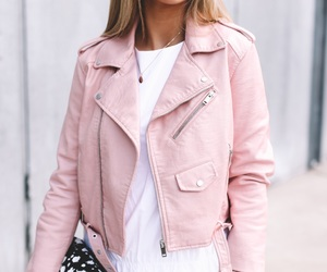 pink, fashion, and jacket image