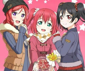 love live, μ's, and nico yazawa image