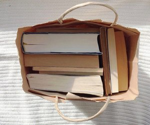 book, aesthetic, and bag image