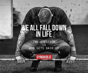 black & white, fall, and fitness image
