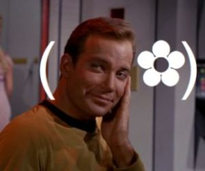 Kirk and star trek image