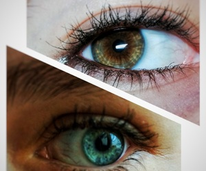 brown, eternity, and eyes image