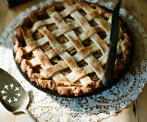 food, pie, and autumn image