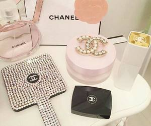 chanel, pink, and beauty image