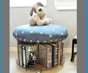 repurposing, stool, and diy projects image