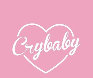 crybaby, pastel, and pink image
