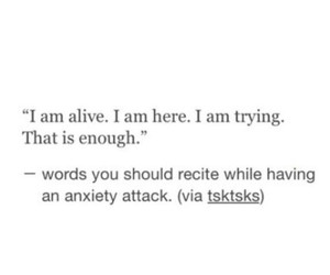 alone, anxiety, and tumblr image