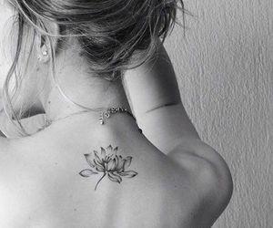 lotus flower tattoo image