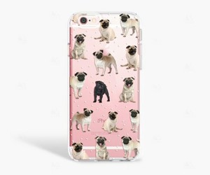 cover, dogs, and pug image