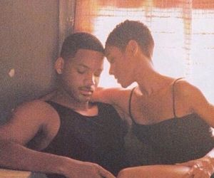 will smith, couple, and black love image