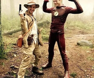 the flash, tom felton, and barry allen image