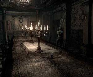dark, Darkness, and house image