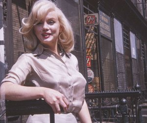 Marilyn Monroe, pregnant, and vintage image