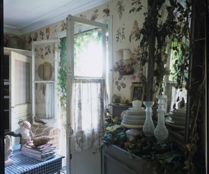 overgrown and shabby chic image