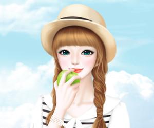 Enakei, cute, and girl image