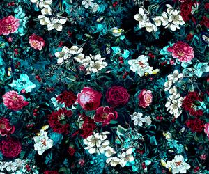 background, botanical, and dark image