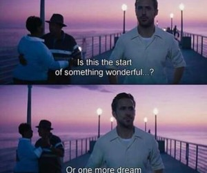 la la land, Dream, and ryan gosling image