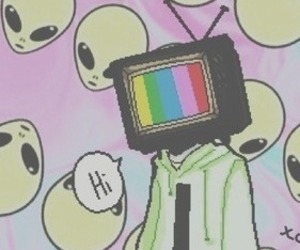 alien and tv image