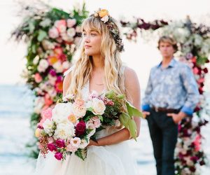 bouquet, fashion, and flowers image