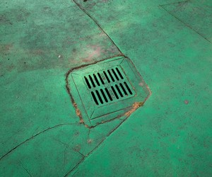 drain and green image